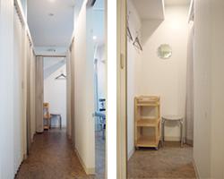 廊下・更衣室